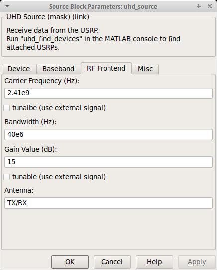 KIT - CEL: Downloads - Simulink-UHD - UHD Sink